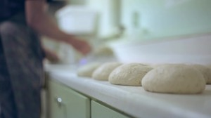 Andy Lofthouse baking bread